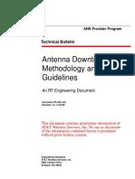 AWS Antenna Downtilt Methodology