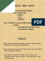 Vaksin Dan Sera