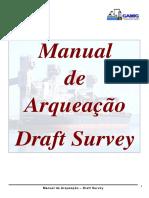 Manual Draft Survey - Arqueação