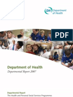 Department of Health Departmental Report 2007