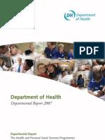 Department of Health Departmental Report 2007
