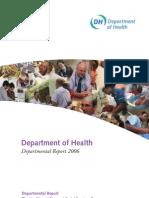 Department of Health Departmental Report 2006