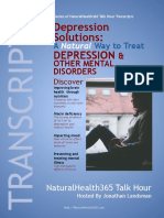 Depression Solutions Transcript 2