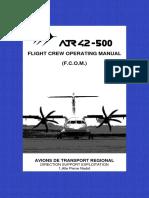 FCOM ATR42-500 Vol 01