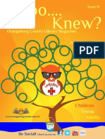 Whoo Knew Library Magazine