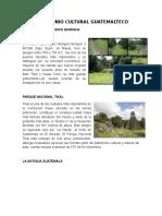 Patrimonio Cultural Guatemalteco