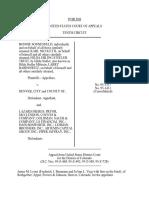 Sonnenfeld v. Denver, City & Co Of, 100 F.3d 744, 10th Cir. (1996)