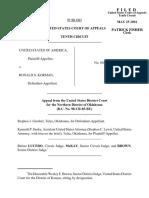 United States v. Korman, 251 F.3d 893, 10th Cir. (2001)