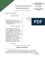 Strepka v. Miller, 10th Cir. (2001)