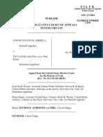 United States v. Katoa, 379 F.3d 1203, 10th Cir. (2004)