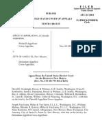 Qwest Corporation v. City of Santa Fe, 380 F.3d 1258, 10th Cir. (2004)