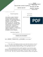 Childs v. Ortiz, 10th Cir. (2007)