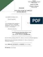 AST Sports Science v. CLF Distribution, 10th Cir. (2008)