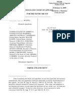 Trafny v. United States, 10th Cir. (2009)