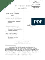 LTF Real Estate Co. v. Expert South Tulsa, 10th Cir. (2015)