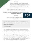 A. Ervin Howell v. United States of America Internal Revenue Service, 982 F.2d 528, 10th Cir. (1992)