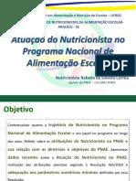 Pnae Encontro Aracaju 2014 Atuacao Do Nutricionista No Pnae