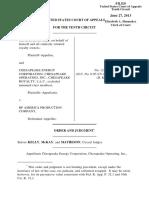 Eatinger v. BP America Production Company, 10th Cir. (2013)
