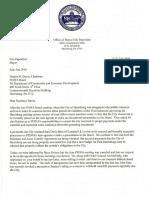 Harrisburg parking letter
