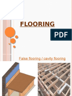 False & Types of Flooring