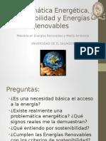 Tema 1 - Problemática Energética, Sostenibilidad y ER
