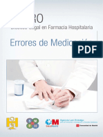 I Foro Bioetico Legal Farmacia Hospitalaria Errores de Medicacion