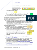 Vector Addition Guide