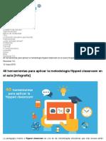 40 herramientas para aplicar la metodología flipped classroom en el aula [Infografía] | aulaPlaneta