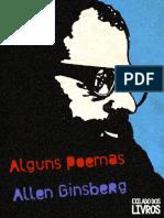 Alguns Poemas - Allen Ginsberg