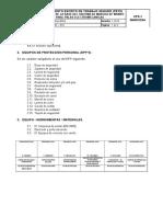 P-1834-018 Reparacion de La Base Del Sistema de Marcha de Las Palas Electromecanicas