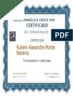 Certificado Clássico