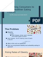 motivating consumers to make healthier eating choices