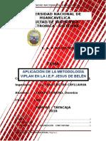 259441490 Aplicacion de La Metodologia VIPLAN en La IEP Nino Belen PDF