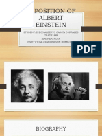 Exposition of Albert Einstein