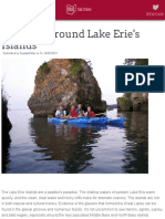 Paddling Around Lake Erie's Islands | Ohio. Find it here.