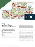 Ightham Mote's Circular Walk to Knole _ National Trust