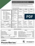 Manual Dsc 1832