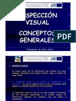 INSPECCIÓN VISUAL CONCEPTOS GENERALES