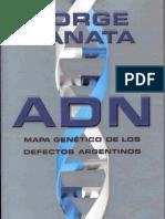 Lanata, Jorge - ADN Mapa genetico de los defectos argentinos