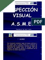 INSPECCIÓN VISUAL ASME