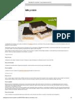 Bocaditos de Chocolate Y Coco _ Gastronomía & Cía