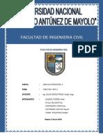 ANALISIS ESTRUCTURAL II- SAP