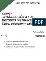 Tema 1 Introducción a Los Métodos Instrumentales Clase Repaso III-2015