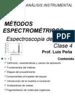 Tema 2 Espectroscopia de Masas Resumido Clase 4 III-2015