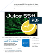 JuiceSSH Makes It Easy to Manage SSH From an Android Device - TechRepublic