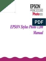 Epson Stylus Photo 1200