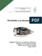 El Turbofán y Su Funcionamiento