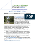 Pa Environment Digest July 11, 2016