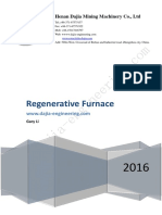 High Temperature Air Combustion Technology (HTAC) (Regenerative Furnace)