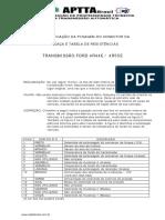 TRANSMISSÃO FORD 4R44E / 4R55E
